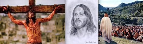 Jesús en las películas de Gibson, Zefirelli y Wyler