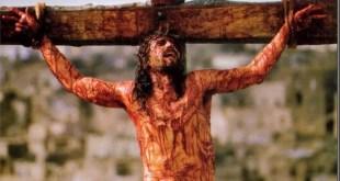 Jim Caviezel en el papel de Jesús en 'La pasión de Criosto', de Mel Gibson