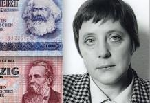 Carlos Marx, Federico Engels, Angela Dorothea Kasner, futura Merkel