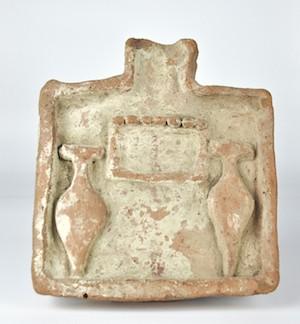 Mesa de dfrendas de la cultura egipcia 2040-1785 a.C.