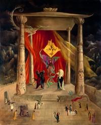 Leonora Carrington, El Templo de la Palabra