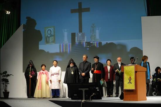 Inauguración de la X Asamblea del Consejo Mundial de Iglesias (CMI) en Busan, Corea