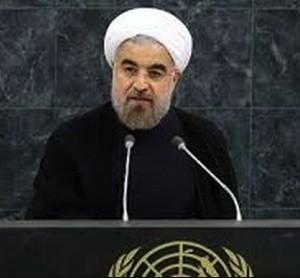 Hasan Rohani en la ONU