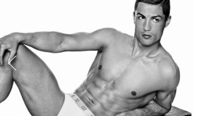 Cristiano Ronaldo, model of the image campaign of its underwear line CR7 by Cristiano Ronaldo. Photo by Giampaolo Sgura