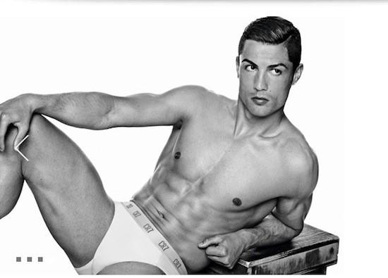 CR7 Cristiano Ronaldo. Campaña publicitaria de calzoncillos JBS Textile Group