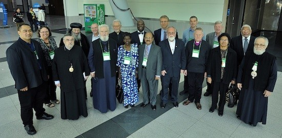Miembros del Comité ejecutivo saliente del CMI