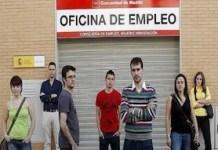 Jovenes sin empleo en Madrid
