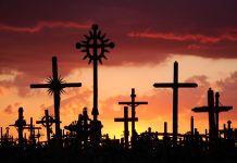 Amos Chapples/Rex Features. Colina de las Cruces en Siauliai, Lituania