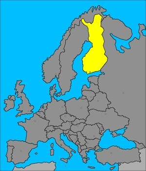 mapa-finlandia-europa