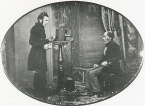 Daguerrotipista trabajando, 1843