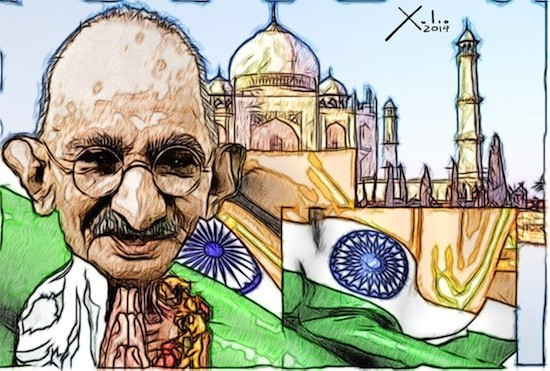 Xulio Formoso: Mahatma Gandhi