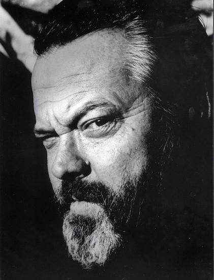 Colita, Orson Welles. Cardona, Barcelona, 1964