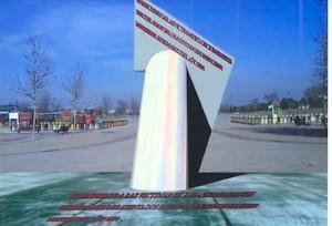 Monumentos a las víctimas del 11M en Coslada