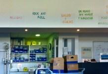 'Viaje al paraíso II.' Sala de Oncología y Hemodiálisis del Hospital Marina Salud de Dénia