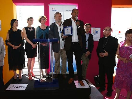 Abderramán Sissaku recibe el Premio del Jurado Ecuménico deCannes 2012 por su película 'Timbuctú'