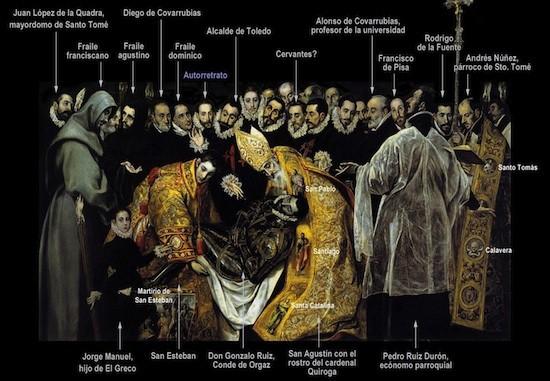 El-Greco-entierro-conde-de-Orgaz-personajes