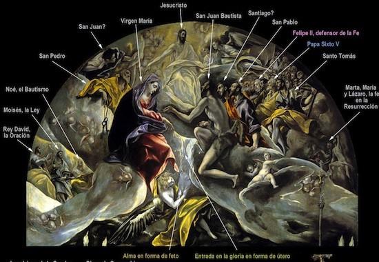El-Greco-entierro-conde-orgaz-detalle