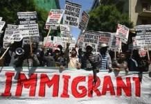 Protestas contra el racismo en Grecia