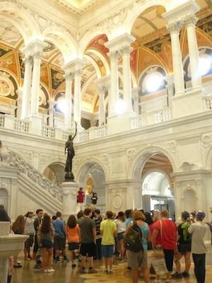 Biblioteca Congreso Washington ABianco Biblioteca del Congreso: la Ciudad de los libros en Washington