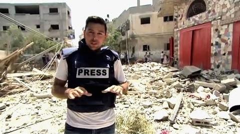 Ayman Mohyeldin en Gaza