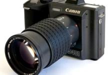 Canon RC701, evolución del prototipo D413 (1984) y primera cámara digital comercializada (1986)