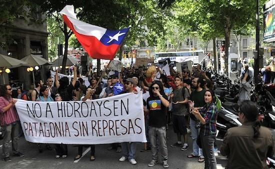 Hidroaysen-protestas