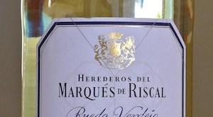 Marqués de Riscal Rueda Verdejo 2013