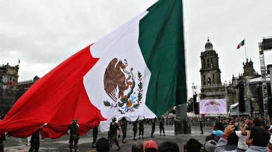 Mexico grito Zocalo 16 septiembre No hay un solo México