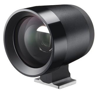 Sigma dpQuattro. Visor de zapata para el objetivo gran angular 19 mm