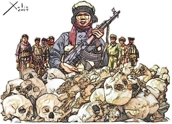 Xulio Formoso: Khmer Rojo