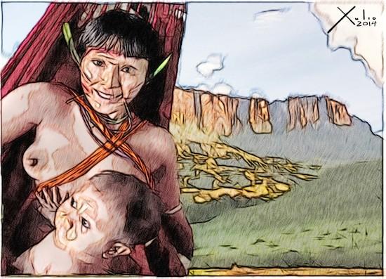 Xulio Formoso: pueblo Pemón