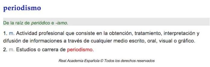 RAE Periodismo