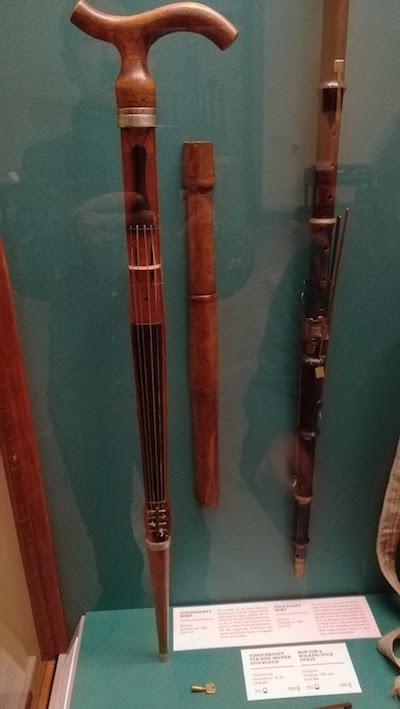 Bastón musical. Weltmuseum, Viena