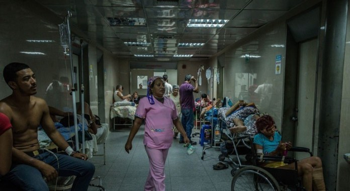Hospitales de Venezuela Meridith Kohut - IRIN