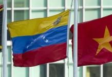 ONU/Loey Felipe: La bandera de Venezuela ondea en la sede de la ONU en Nueva York.