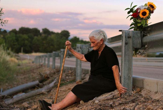 Maria Martin uno de los personajes de la película El silencio de los otros