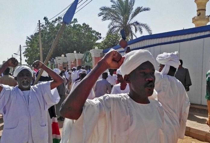 Sudan protestas salida mezquitas