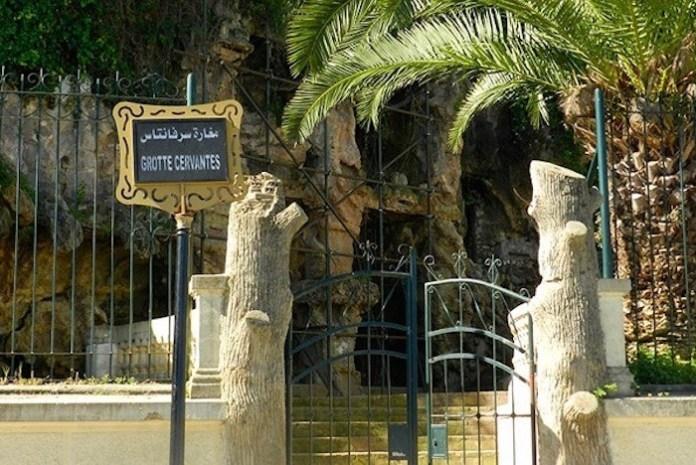 Gruta de Cervantes en la capital argelina, Argel