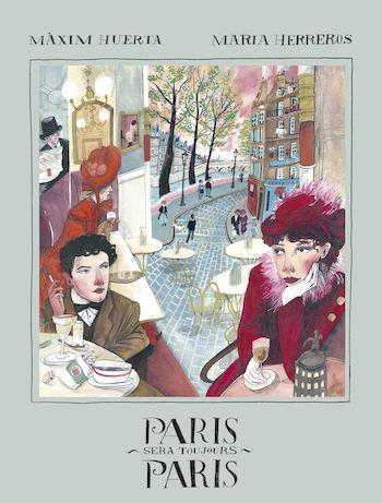 Maxim Huerta Paris cubierta