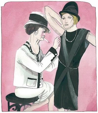 Paris Coco Chanel por María Herreros