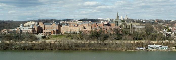 Panorámica de la Universidad  de Georgetown