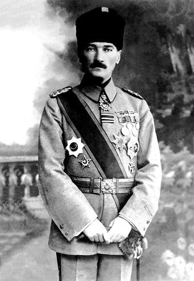 Mustafa Kemal Atatürk (1918)