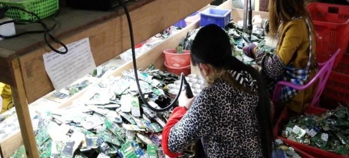 OIT Sólo el 20% de los desperdicios electrónicos de reciclan formalmente, aunque están valorados en miles de millones de dólares.