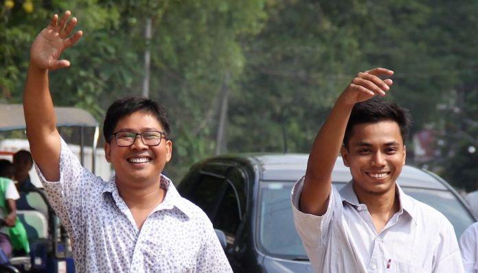 Wa Lone y Kyaw Soe Oo liberados en Birmania