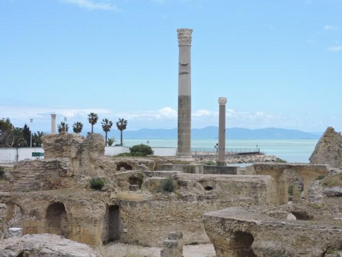 Adriana Bianco: termas de Cartago