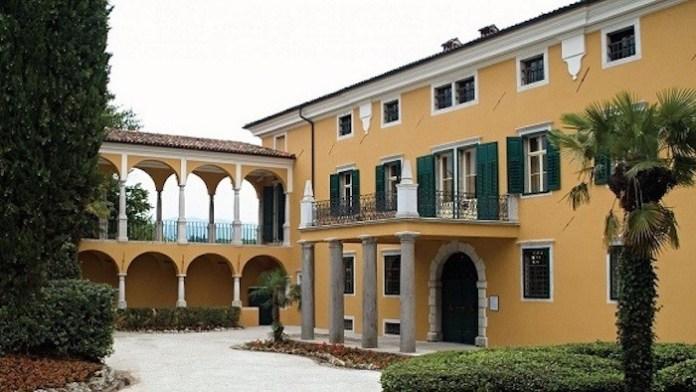 Fachada del Palazzo Corinini Cronberg.