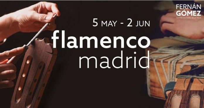 Flamenco Madrid 2019 cartel