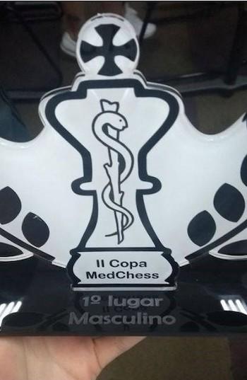 Trofeo ajedrez masculino