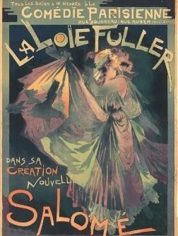 opera La Loie Fuller como Salomé