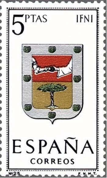 sello España Ifni